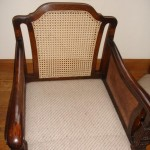 Caned chair back After