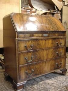 mahogany bureau 1930s before